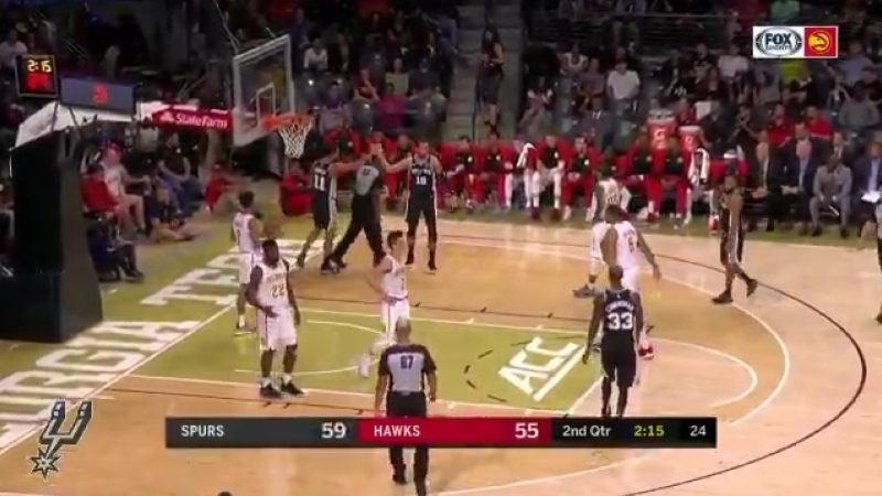 Pau with the vision, Bryn with the finish.