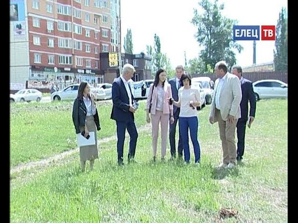 Экспертный совет проверил благоустройство сквера им. А.Т. Харченко и парка 40-летия Октября