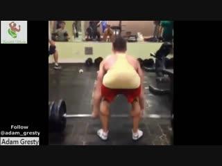 Adam Gresty CUTE bodybuilder with big ARMS WORKOUT POSING FLEXING