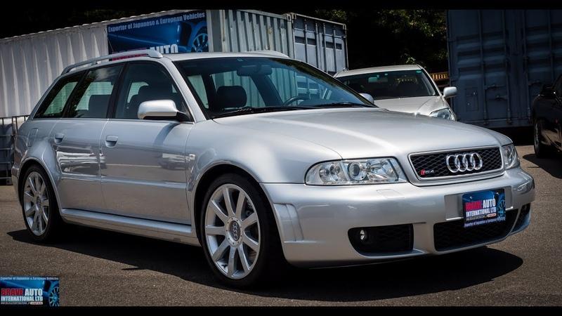 Walk Around/Test Drive - 2001 Audi RS4 Avant - Japanese JDM Car Auctions