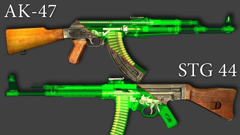 Сравниваем. АК-47 STG 44