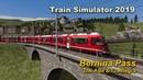 Train Simulator 2019 Bernina Pass The ABe 8 12 Allegra
