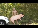 Naked Guy Interrupts News