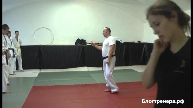 Семинар Арсения Филатова по базовой технике Киокусинкай - 6 часть