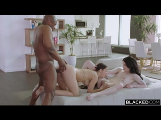 Alina Lopez Evelyn Claire  Prince Yahshua Making Herself At Home