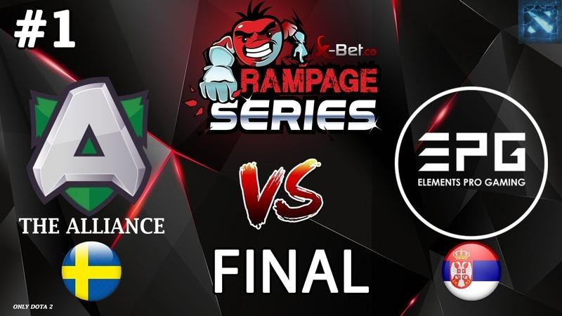 Alliance vs EPG 1 BO5 GRAND FINAL X Rampage Series 2