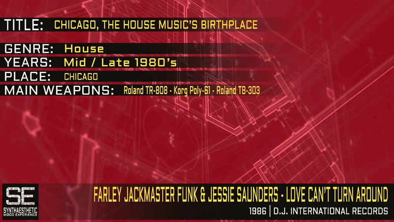Jackmaster Funk Jessie Saunders - Love Can't Turn Around (D.J. International Records | 1986)