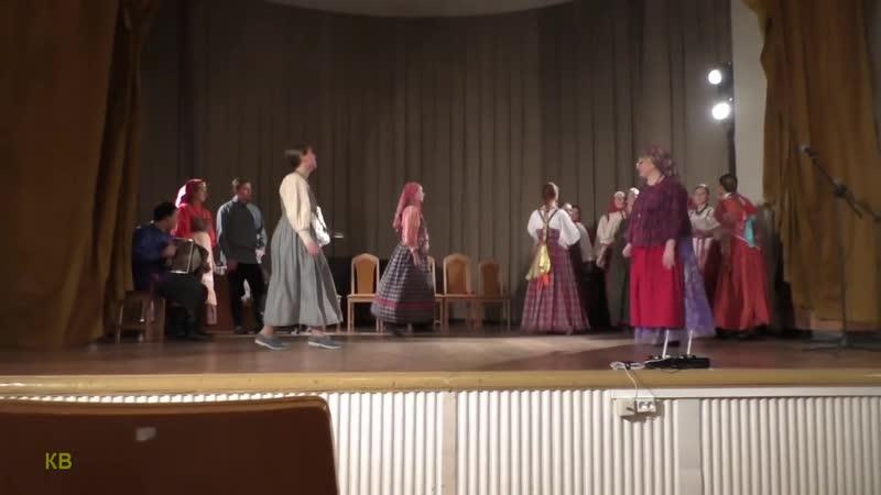 Женская пляска Руссского с частушками Русский фольклор