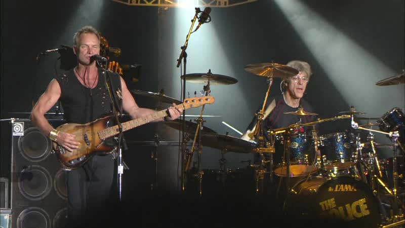The Police De Do Do Do De Da Da Da '10 Live in Concert Japan 2008