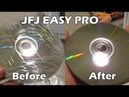 Removing Very Deep Scratches with the JFJ Easy Pro Disc Resurfacer