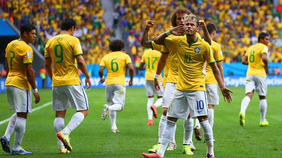 ЧМ-2014. Бразилия и Мексика выходят в 1/8 финала