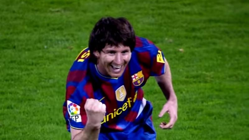 Messi Vs Real Zaragoza (A) 2009/10 - English Commentary - HD 1080i