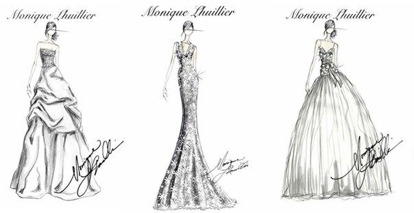Дизайн одежды карандашом