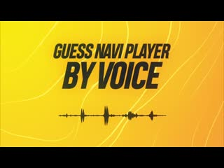 Guess navi player by voice