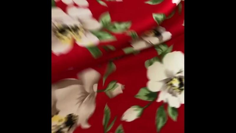 Плательная ткань в 3 цветах: Красный, синий, малиновый ⠀ Для платья, сарафана - идеально👌 ⠀⠀ 🌺100% вискоза 🌺шир 140см 🌺цена 300₽