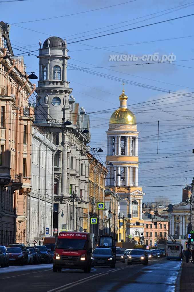 Владимирский собор, Загородный проспект