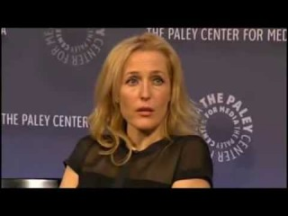 New York Comic Con Paley Center X-Files Q&A with Gillian Anderson and David Duchovny  Part 5