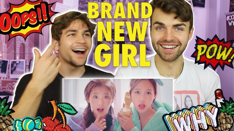 TWICE「BRAND NEW GIRL」Music Video Reaction OH MY GOD