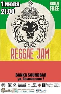 08.07.14 Reggae~Jam в Soundbar Banka в 21:00