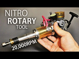 Nitro Powered Rotary Tool nitro powered rotary tool