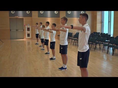 Воспитанники Академии приступили к занятиям латиноамериканскими танцами