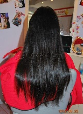 волосы на заколках тк народный
