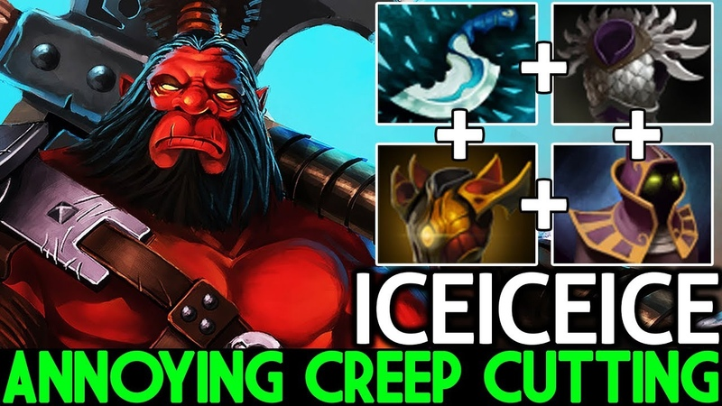 Iceiceice [Axe] Annoying Creep Cutting Cancer Gameplay 7.20 Dota 2