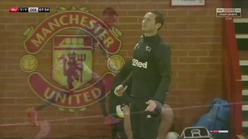 Кубок Лиги 2018-19 / 3-й раунд / Манчестер Юнайтед - Дерби Каунти / 2