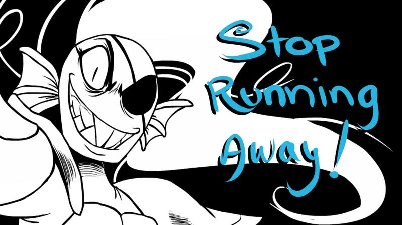 STOP RUNNING AWAY! [Undertale Animatic]