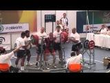 Всемирные Игры 2013, Кали. Приседания средней весовой категории