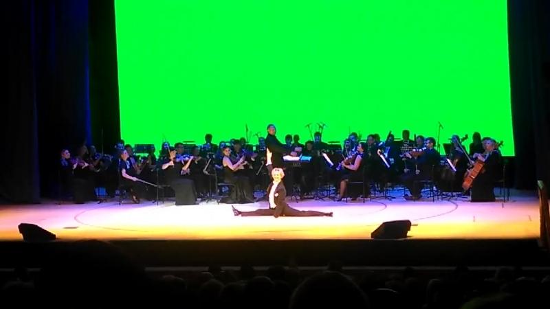 Александр Каминский на Гала-концерте театра под рук. Чихачёва, 27.09.2018