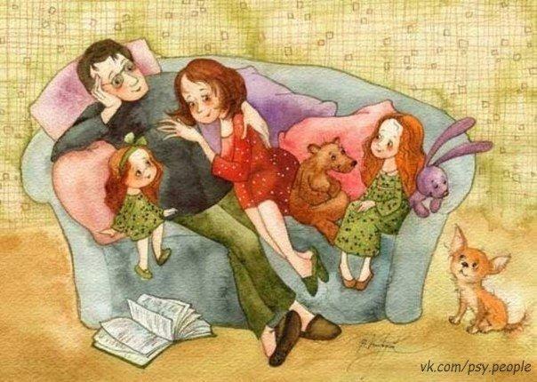 А счастье - это купить обои, Иметь семью, запастись терпеньем. А счастье - это на кухне двое, Пьют чай и мажут на хлеб варенье. А счастье - это не Рим и Куба, Не куча шмоток, не развлеченья. А счастье - слишком родные губы, Уютный домик и чай с печеньем.