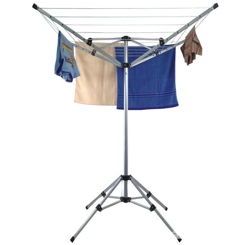 Tendedero ara a de aluminio secadora de ropa para el - Tendedero de jardin ...