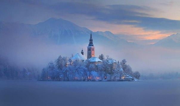 Магия острова Блед, Словения