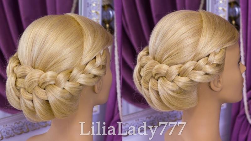 Прически Красивая Прическа на Выпускной Beautiful Hairstyles