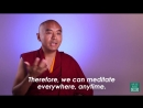 Мастерство медитации от буддийского монаха
