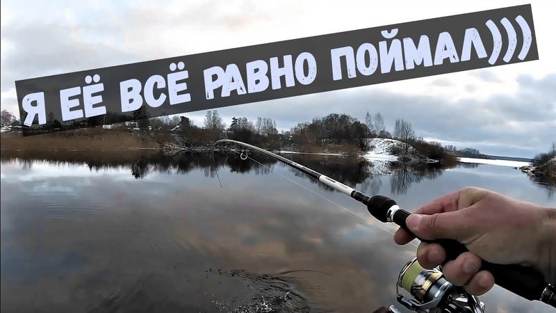 Зимний спиннинг! Рыбалка одной ямки, воблер побеждает☝️