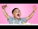 Дети Пробуют Русские Вкусняшки!