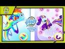 My Little Pony Радужные гонки Улучшаем Всех Пони до максимума скоро конец игры