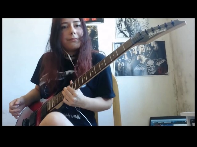 Incredible 16 Year old Self Taught Girl Guitarist From Argentina is Mind Blowing!