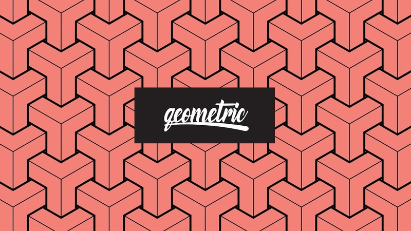 Geometric Pattern Adobe Illustrator Plus HowTo Mockup Geometric Pattern Design