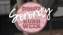 DAY 1 - SORORITY RUSH WEEK! (Nicole, Chelsea, Isabel)