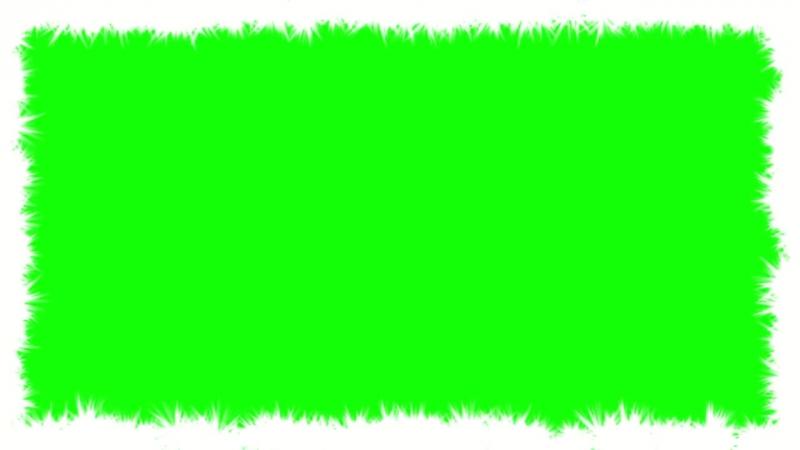 Футаж эффект рамка блеск белый 2 green background Frame white glitter effect