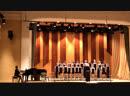 И С Бах Утренняя молитва исполняет хор младших классов Сынок Елисей справа от дирижера воп
