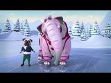 Белка и Стрелка: Озорная семейка 62 серия -  Страсти на льду