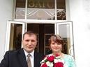 Агапова Ирина и Борис Маркелов- церемония бракосочетания