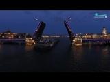Ночной Петербург под музыку Рахманинова в аранжировке Станислава Чигадаева