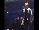 Алекс Матераццо на концерте Justin Timberlake гнездо пересмешника