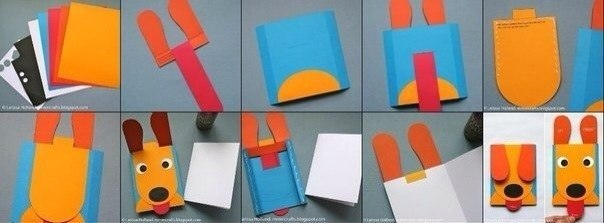 Как сделать из бумаги дневники