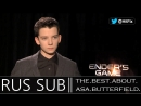 Asa Butterfield on the spectacular battles in Enders Game